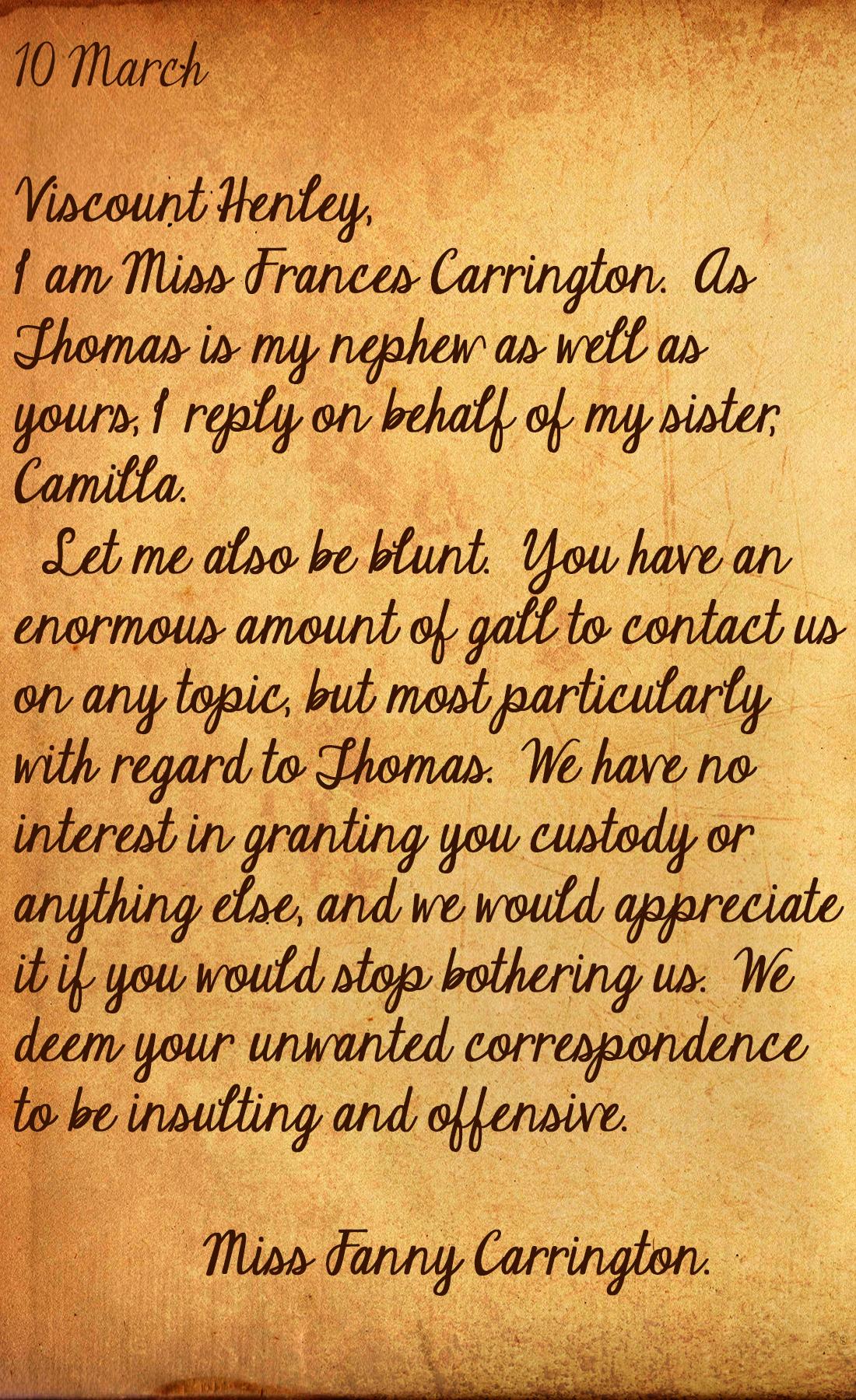 Letter Four