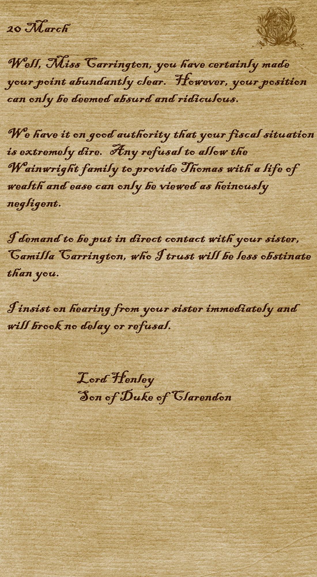 Letter Five